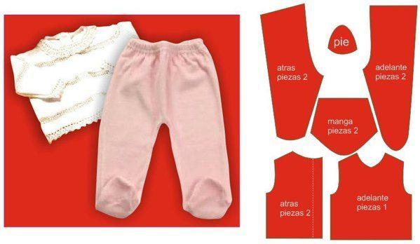 74e4baf1c moldes de ropa de bebe en polar - Buscar con Google