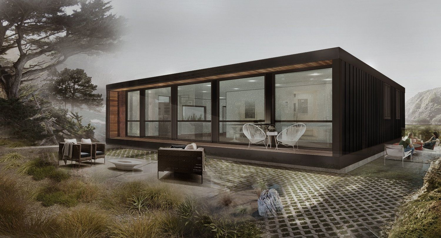 Honomobo H05 Dimensions 40ft Wide X 40ft Deep Footprint Prefab Container Homes Container House Modern House Design