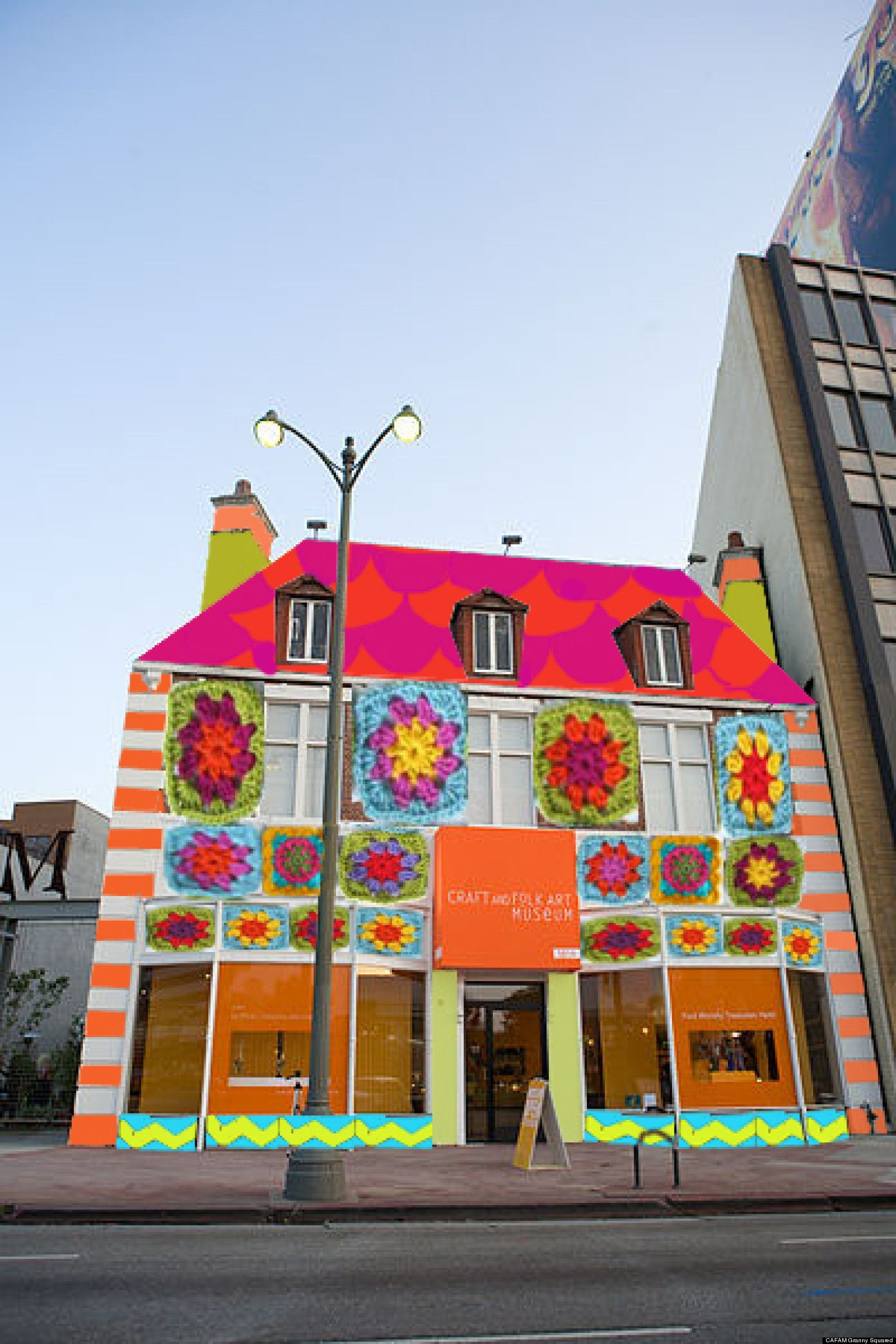 This Museum Gets YARN BOMBED