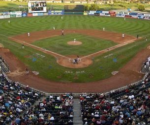 Minor League Colorado Springs Sky Sox Baseball As A