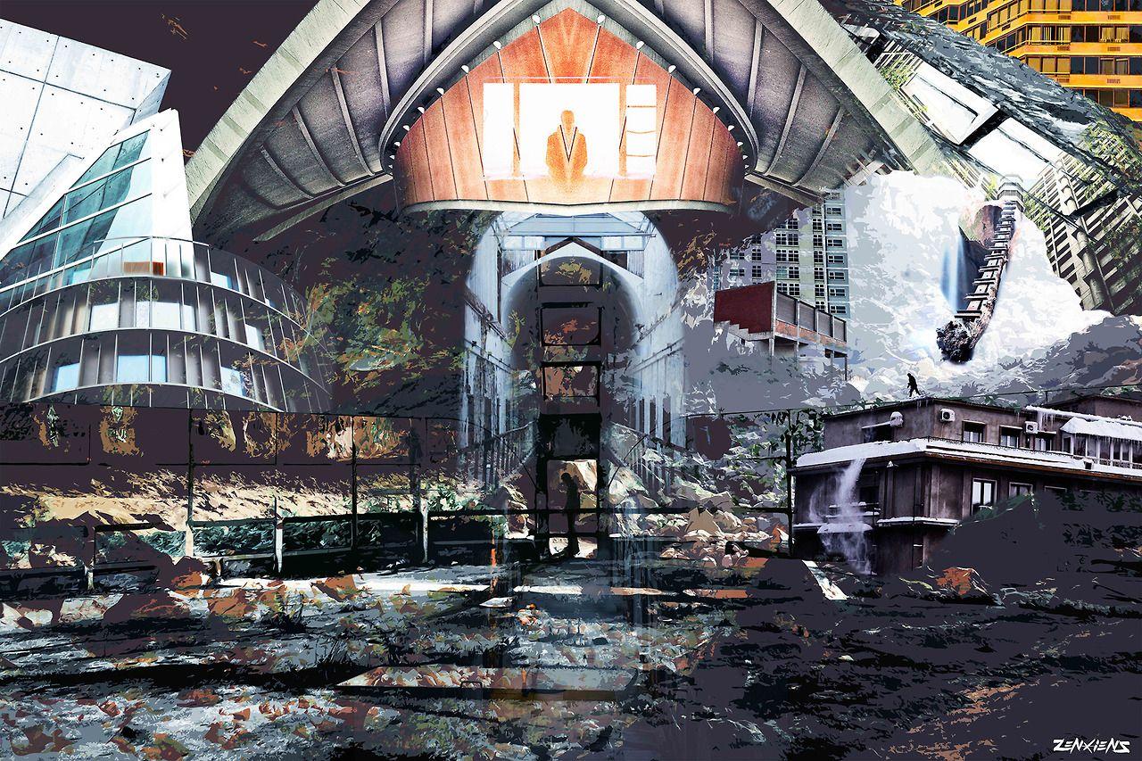 Overwatch. digital collage