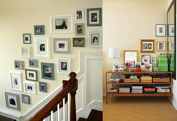 Home Decors How To Arrange Pictures And Photo Frames In Your House   Wall  Pictures