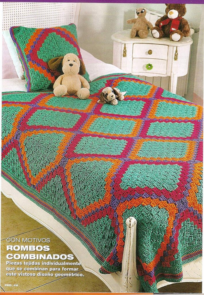 Plaids au crochet | Pinterest