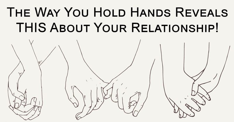 Different ways of holding hands meaning