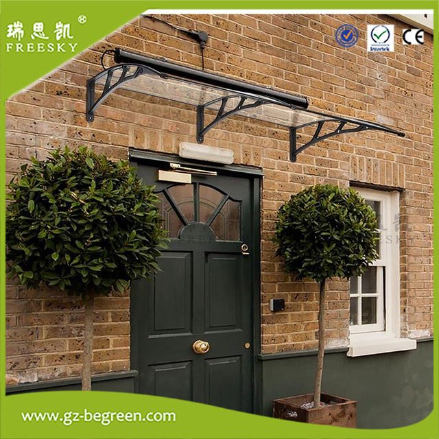 YP120240 120x240cm Overhead Clear Door Window Outdoor Awning Canopy Patio  Cover UV Rain Protection