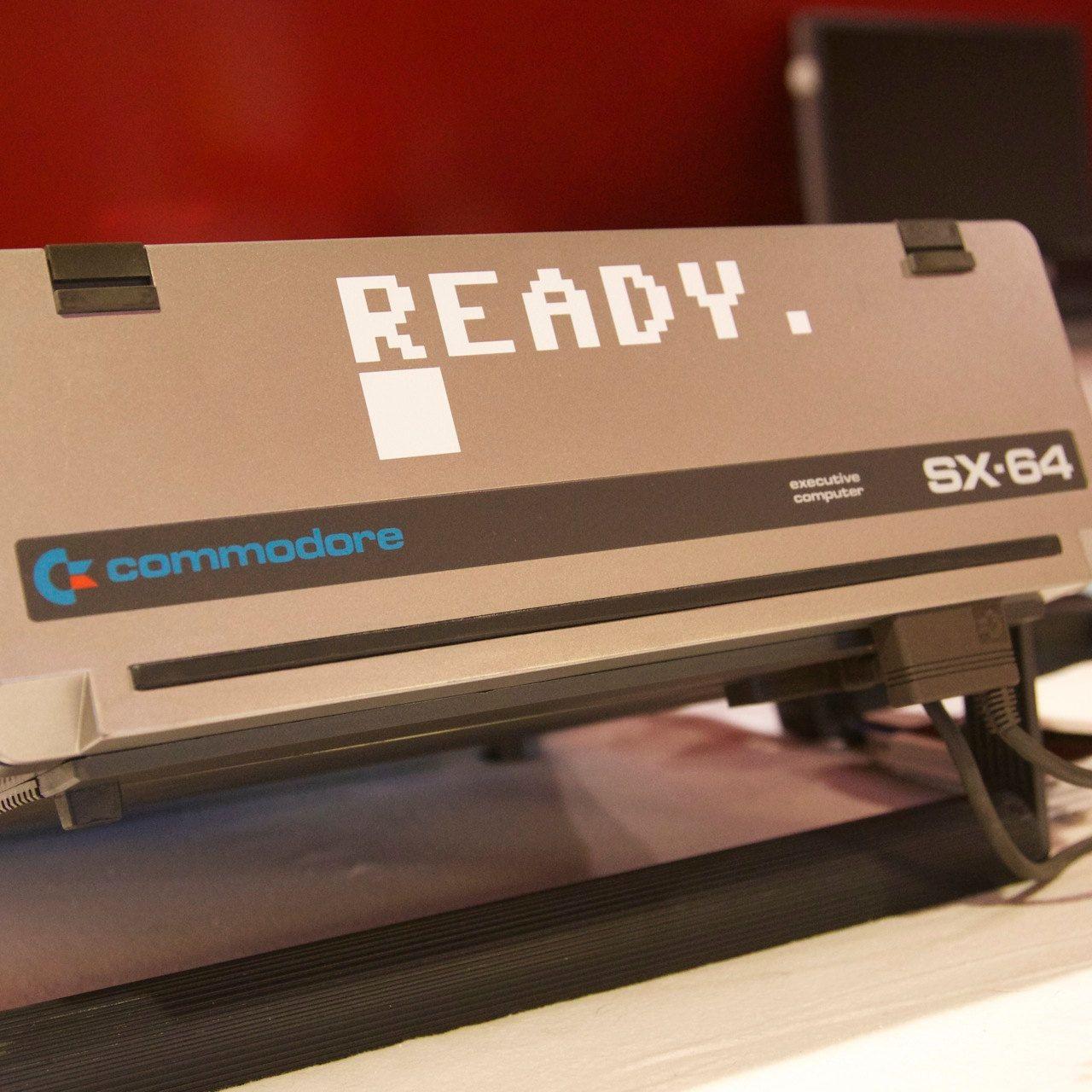 Commodore 64 Ready Prompt C64 Decal Commodore Blue Screen Black Vinyl
