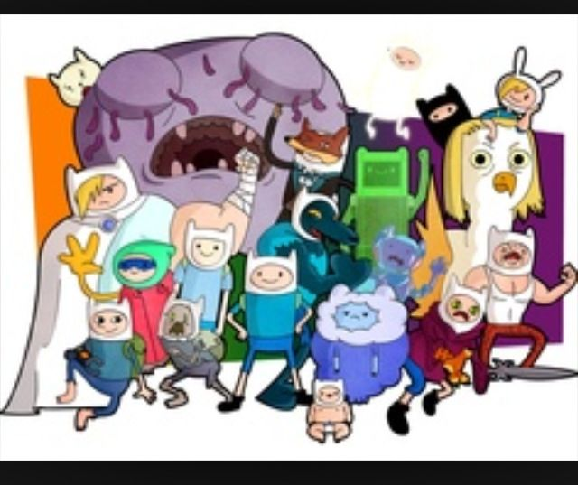 All the different Finns | AT | Adventure time seasons