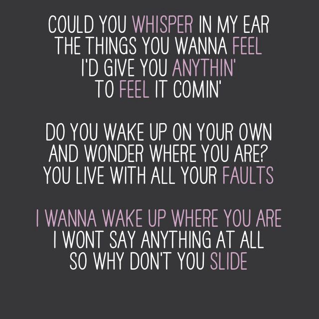 Slide Goo Goo Dolls Made By Amrubisch Favorite Lyrics Lyrics To Live By Music Quotes
