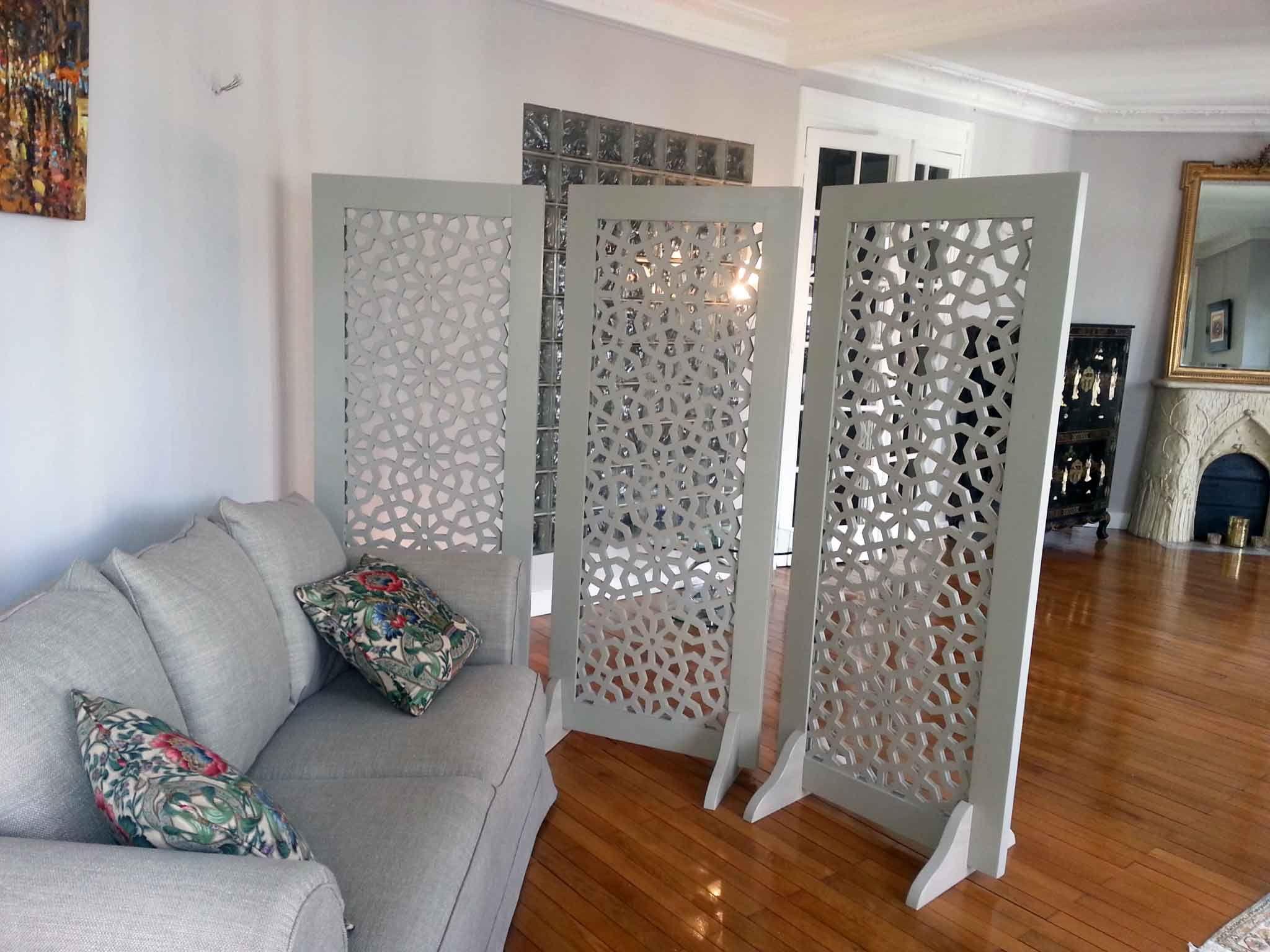 claustra sous forme de paravent int rieur d co pinterest claustra paravent et forme de. Black Bedroom Furniture Sets. Home Design Ideas