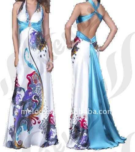 Patrones de vestidos de fiesta largos gratis