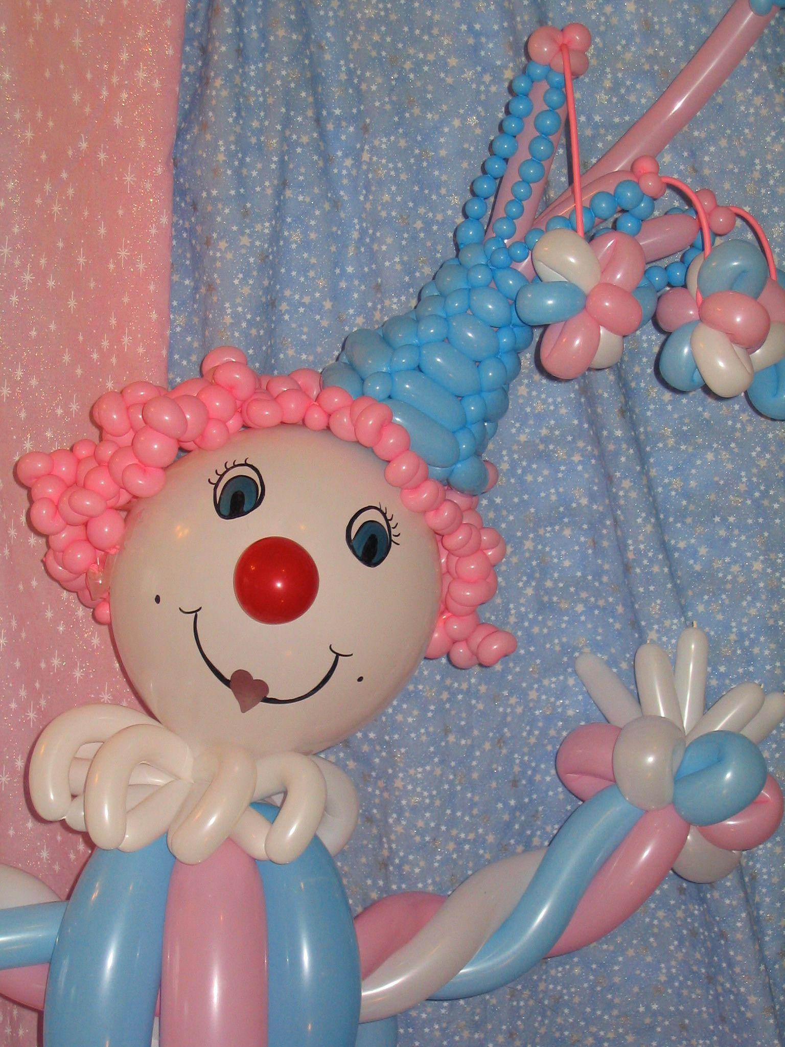 Balloon Clown / Sweet girl / Balloon Animals