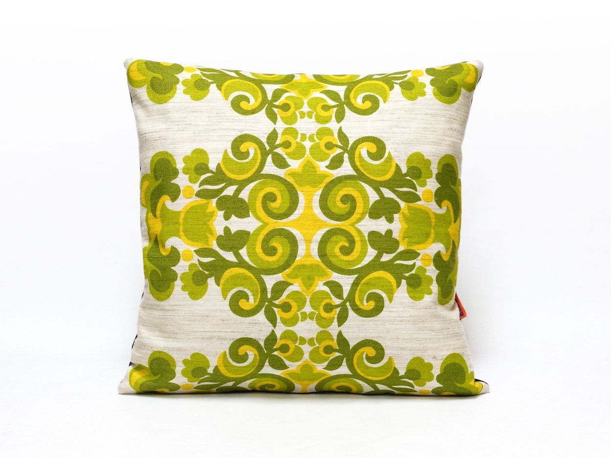 Green Cushion Cover Retro Pillow Throw Pillow Pillow Case