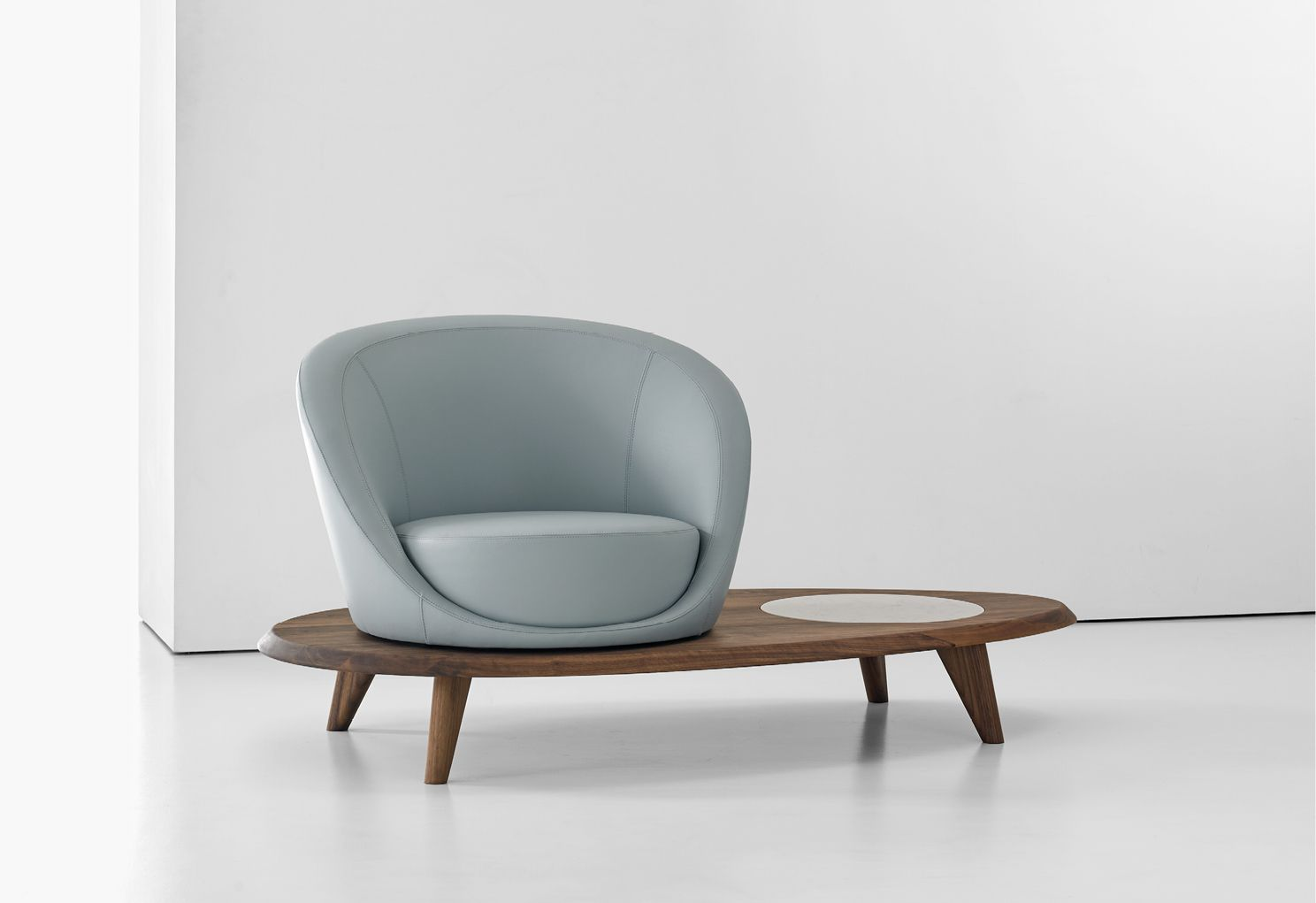 Lilypad Chair Terry Crews For Bernhardt Design Lounge Seating In