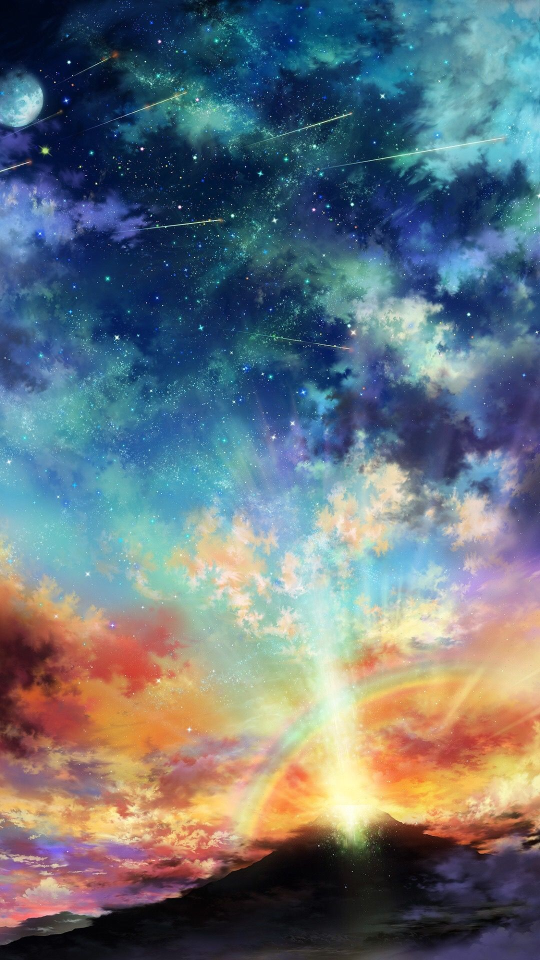 Iphone Wallpaper Backgrounds Anime Scenery Anime