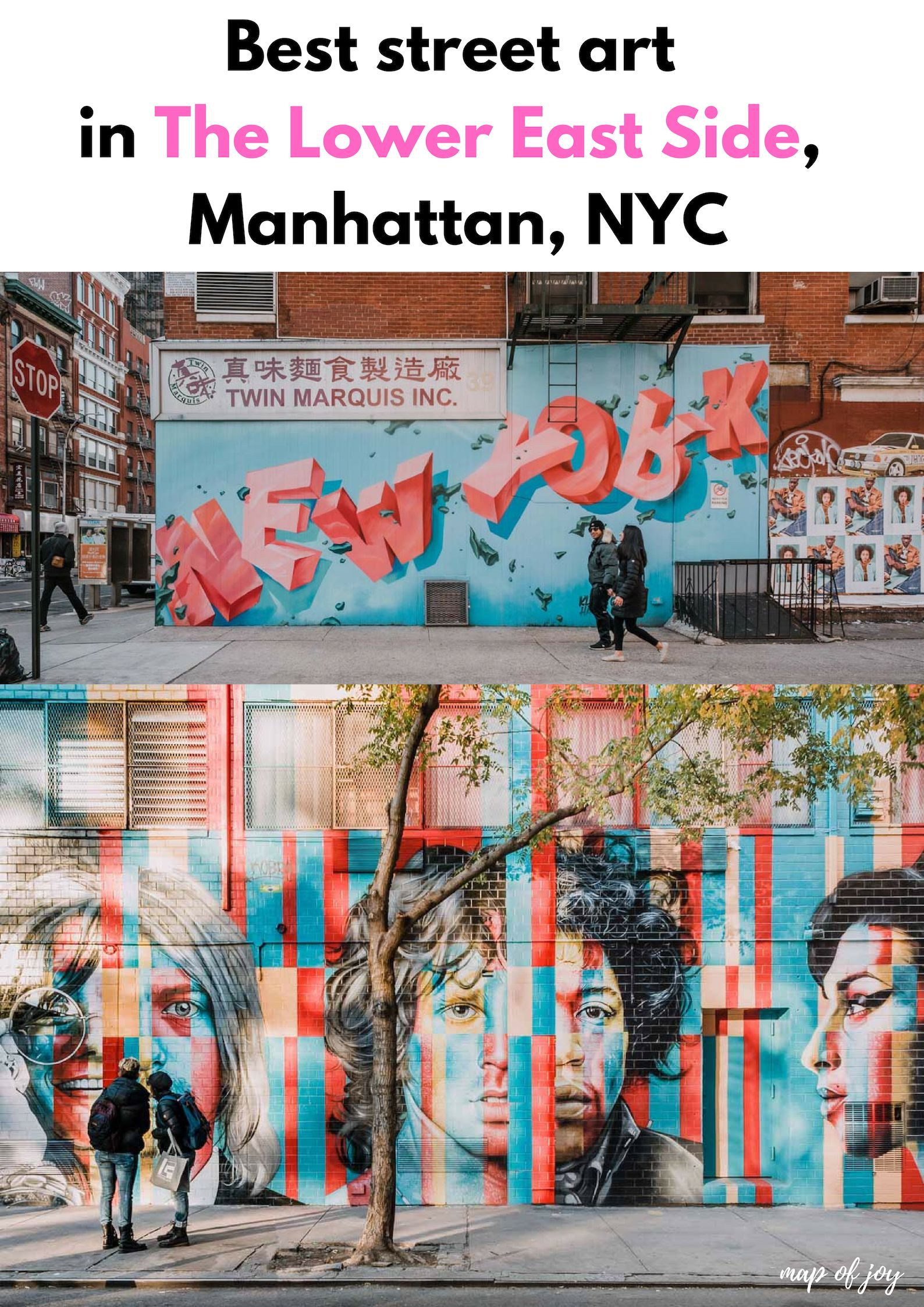street art nyc map Best Street Art In Lower East Side Manhattan In 2020 With Images