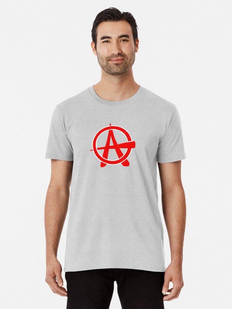 Vintage Retro Punk Anarchy Symbol Premium T Shirt By Planetmonkey Shirts T Shirt Shirt Designs