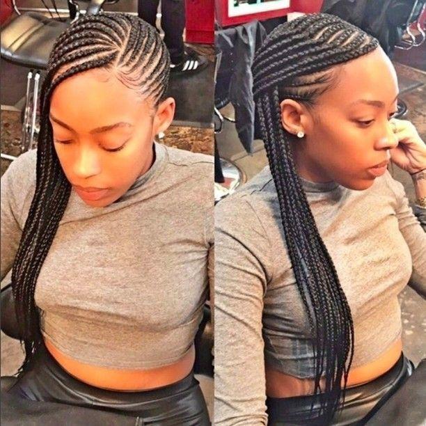 35 Stylish Cornrow Hairstyles Cornrows Pinterest Braids Hair