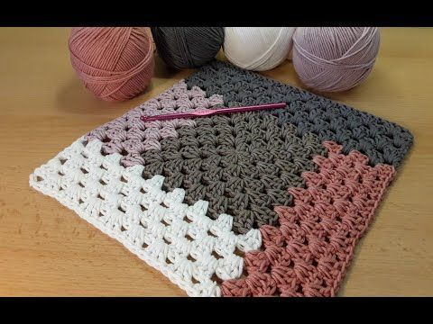 Photo of Crochet cozy blanket in a granny pattern – My Blog