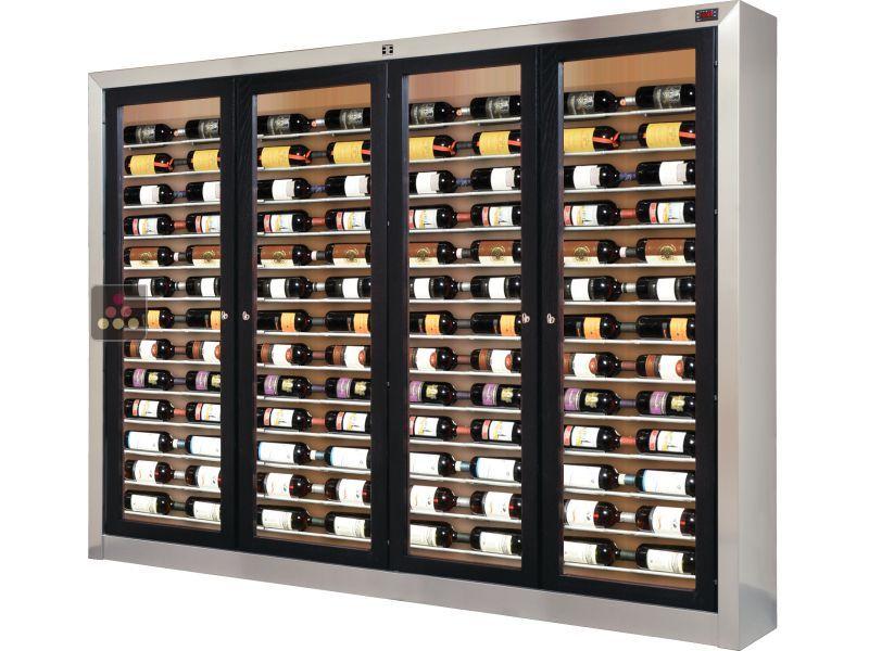 Vitrine Sur Mesure De Conservation Et De Service Du Vin Ellemme