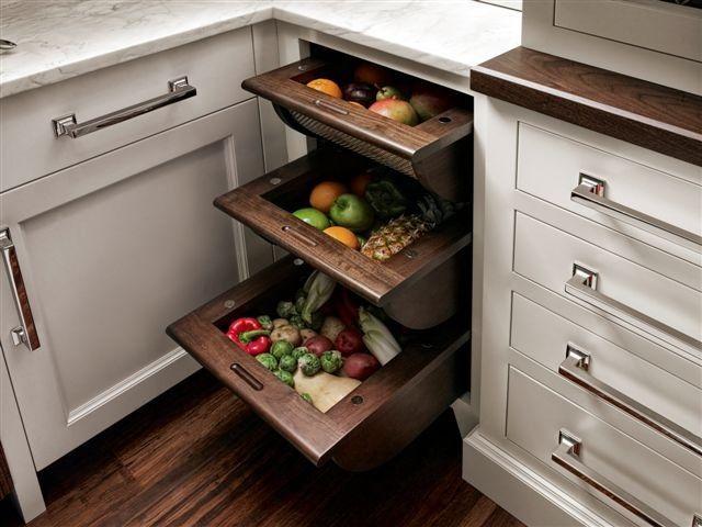 Terrific Kitchen Storage Ideas | Almacenamiento, Ideas y Cocinas