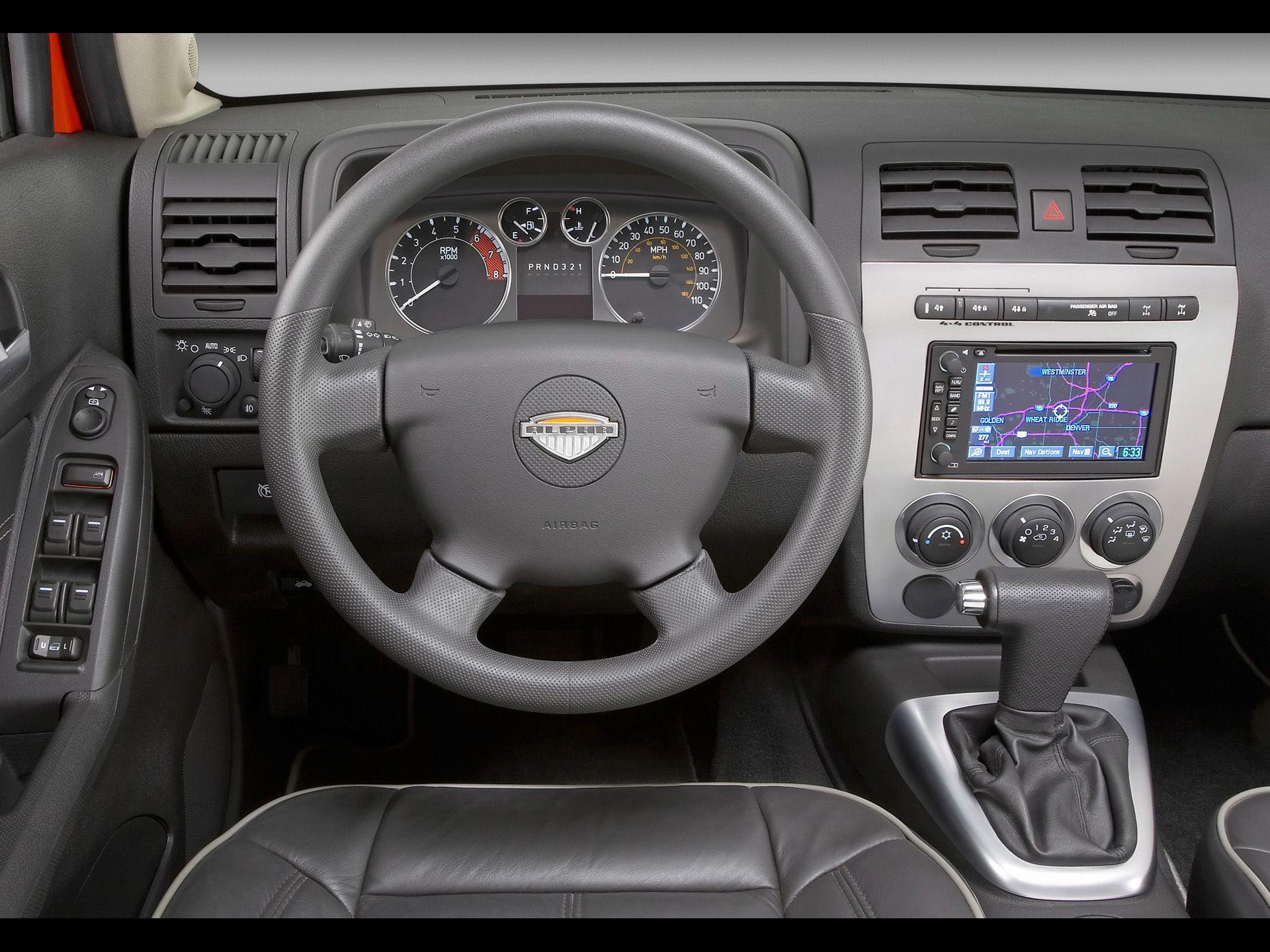Hummer H3 Alpha interior | Hummers | Pinterest | Hummer, Hummer h3 ...