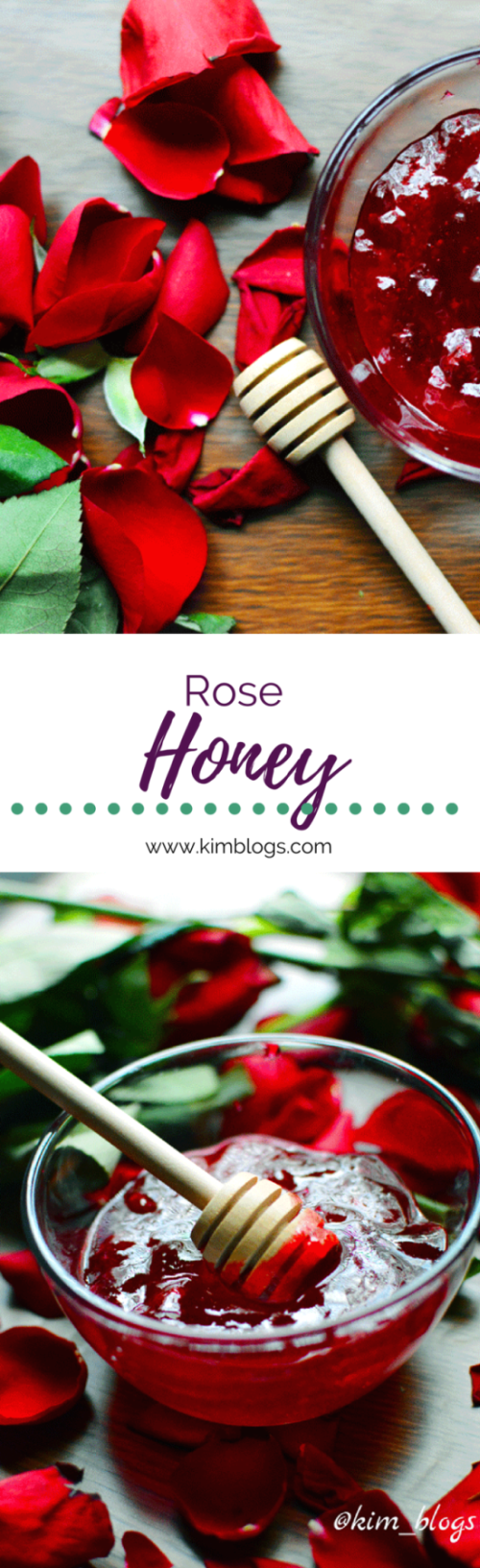 Hey Folks, I hope your day is going well. I am doing great. A few weeks ago my partner got me roses. Last time, I made rose water with the petals, and I still had that so this time I decided to make rose honey. Some of the benefits of roses according to the Herbal Academy roses can act as: antidepressant antispasmodic aphrodisiac astringent antibacterial antiviral antiseptic anti-inflammatory blood tonic cleansing digestive stimulant expectorant increases bile production kidney tonic…