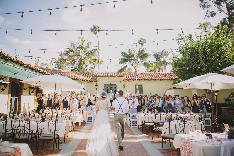 Art Every Frickin Where At This Catalina Island Wedding