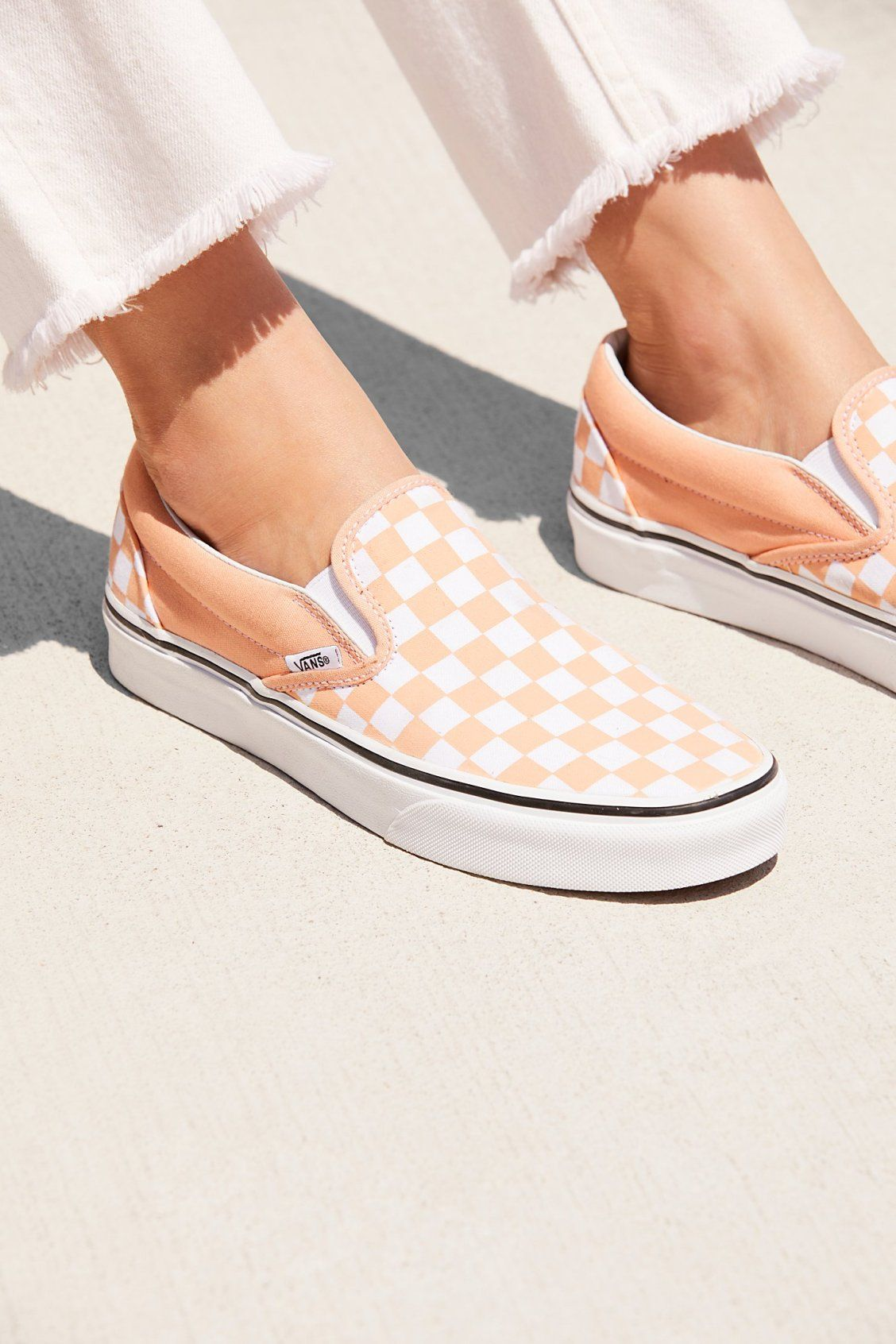 8822d3e2b1b Classic Checkered Slip-On in 2019