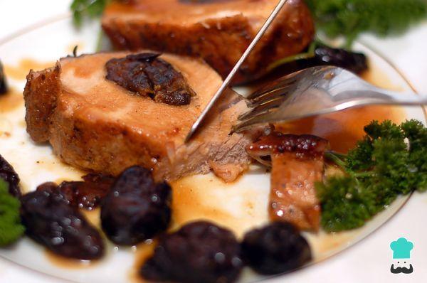 Receta De Salsa De Ciruelas Para Pavo Navideño Recetasgratis Recetasfáciles Recetasdecocina Di Salsa De Ciruela Salsa Para Pavo Cerdo Con Salsa De Ciruelas