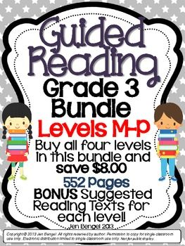 I can read books guided reading levels
