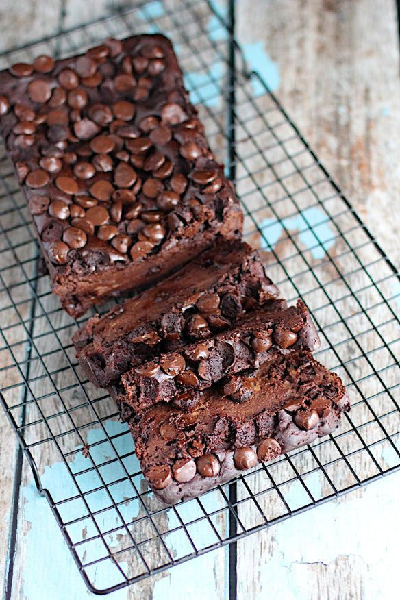 Healthy Chocolate Banana Bread | A Nerd Cooks