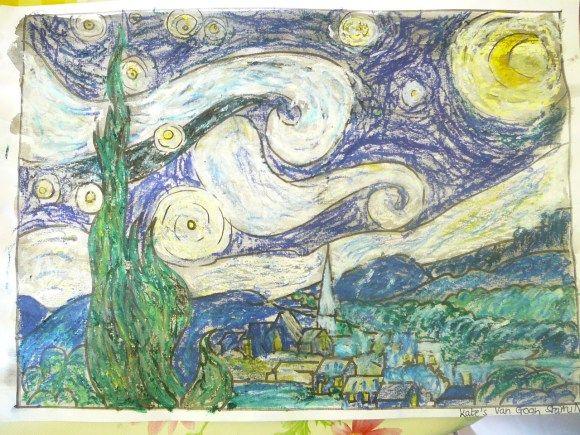 P1080647 | Art appreciation, Art, Starry night art