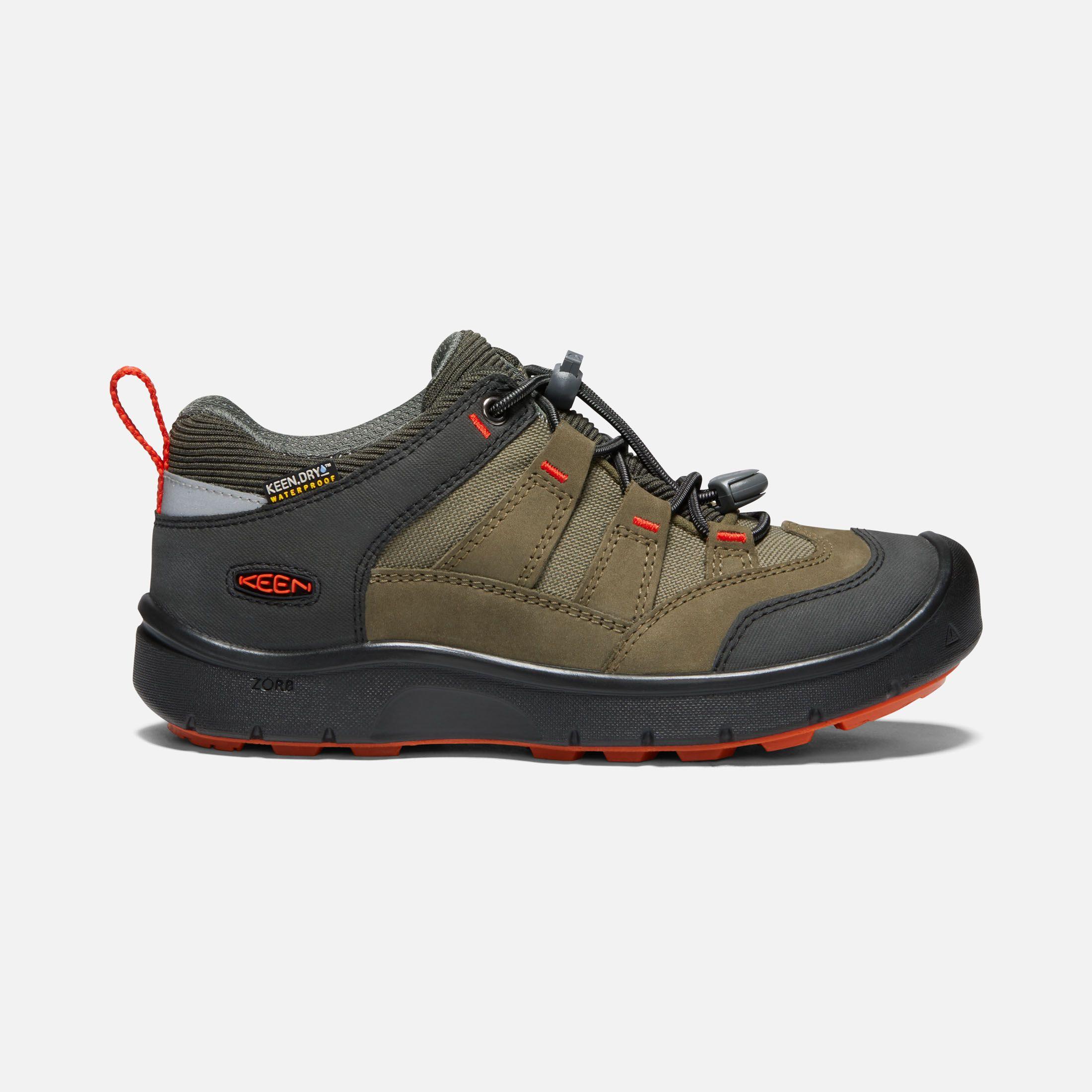 KEEN Kids Hikeport Wp Hiking Shoe