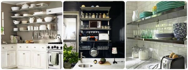 Love This Open Kitchen Shelving Ideas
