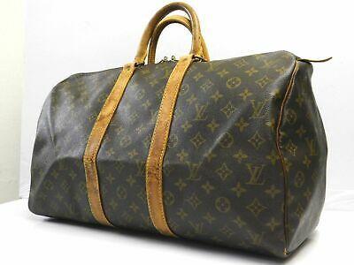 (eBay Ad) Louis Vuitton Handbag Keepall 45 Travel Trank Duffle Luggage Monogram