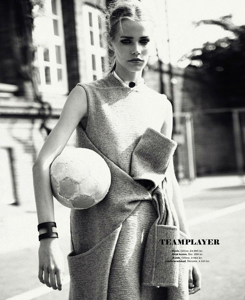 #Celine #coat kirstin-liljegren-for-elle-denmark-august-2013-by-oliver-stalmans-4 #mdotonstyle