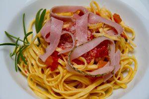 Pasta Fresca, Pomodoro, Cotto al Rosmarino