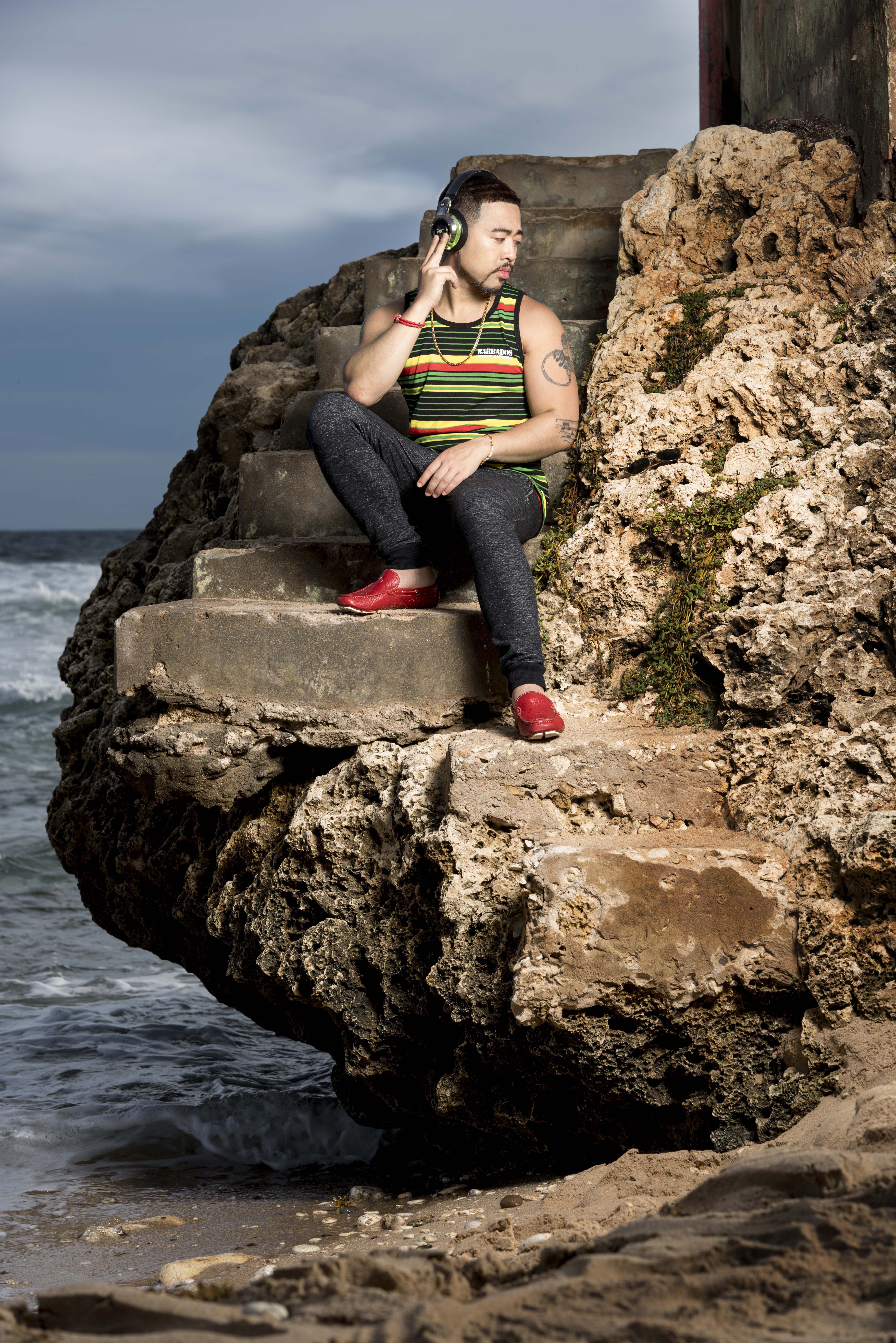 Hip Hop R&B Singers: Zachary Devon Photoshoot in the beautiful beach of  Barbados. Over