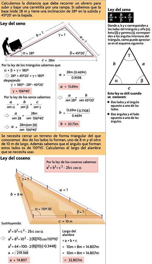 Ley de los senos aplicada matematicas pinterest ley de los ley de los senos aplicada fandeluxe Images
