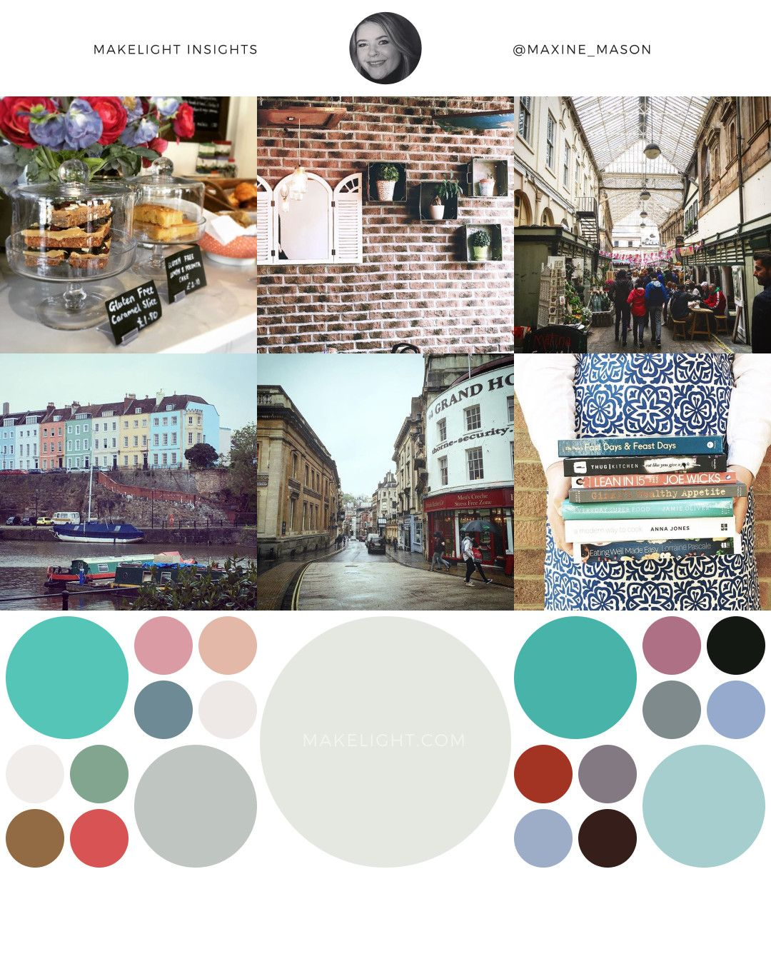 A report on my Instagram account – colours, themes and stats