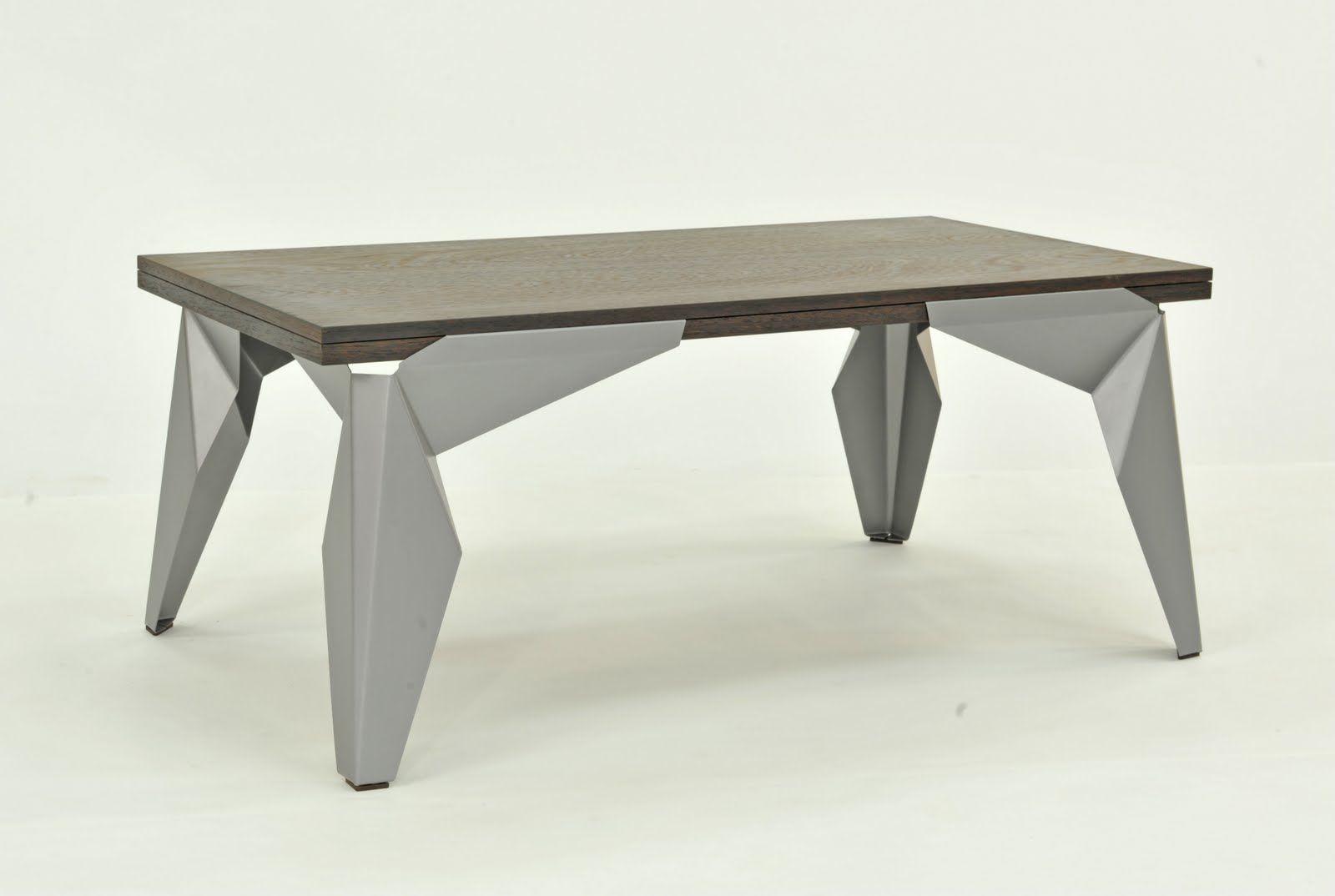 Sheet Metal Coffee Table Metal Furniture Design Steel Furniture