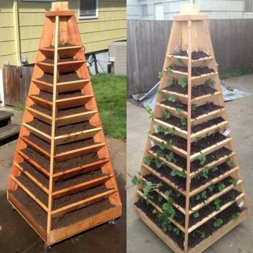 Stand Up Garden. Space Saver.