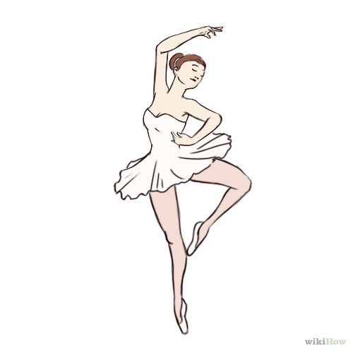 Simple Dancer Drawing Images Amp Pictures Becuo Dancer Drawing Dancing Drawings Ballerina Drawing