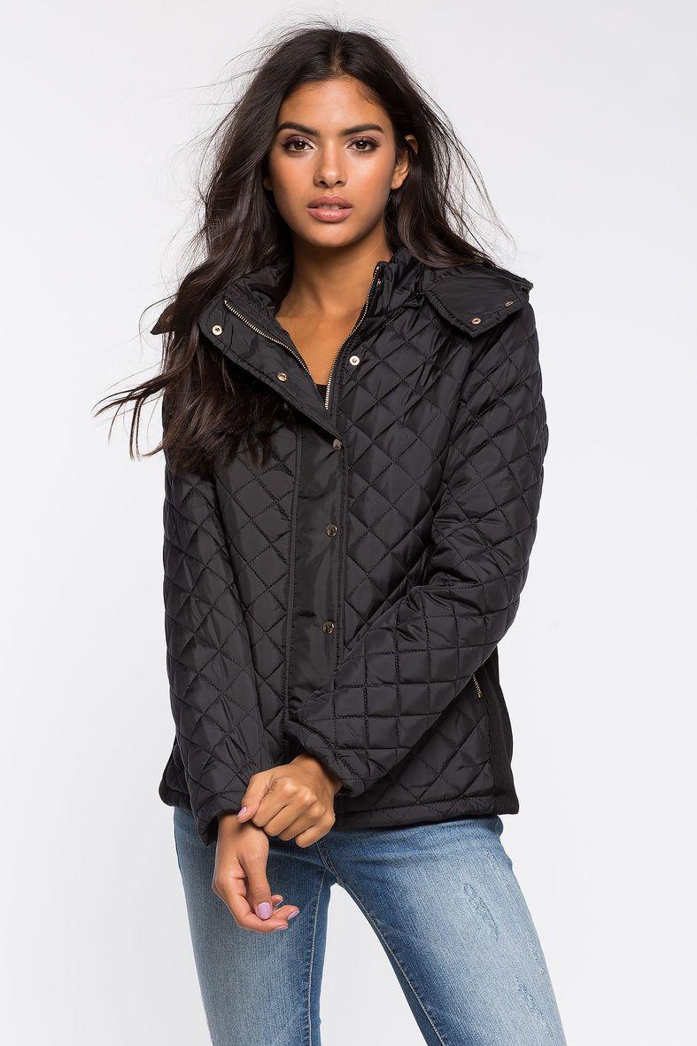 Куртка Размеры: S, M, L, XL Цвет: черный Цена: 2509 руб.     #одежда #женщинам #куртки #коопт