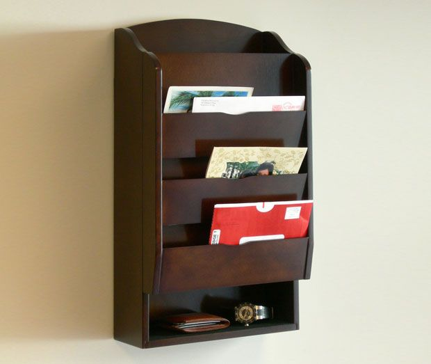 Wall Mounted Bill Organizer  Wall Letter Holders