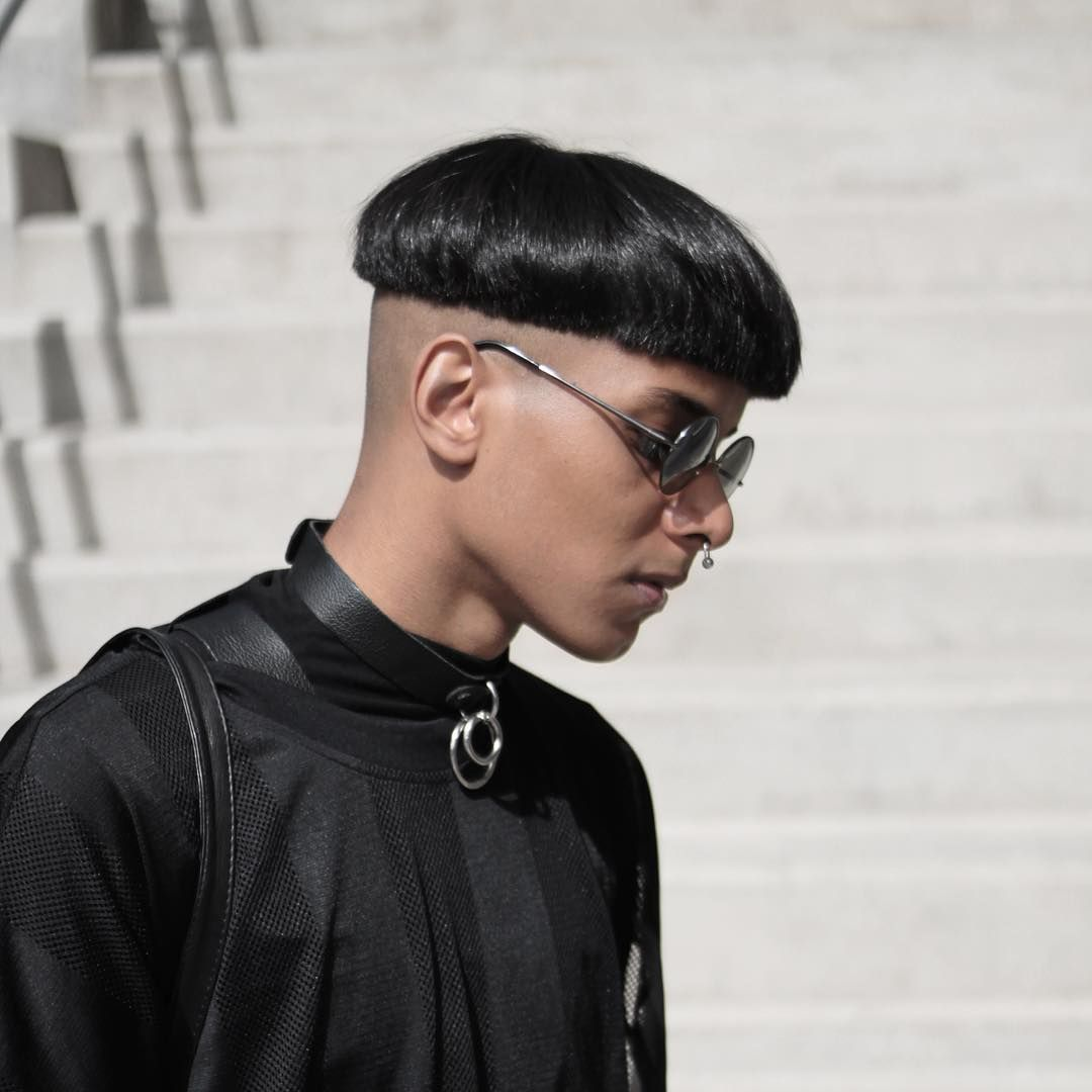 Haircuts for men with designs nice  eyecatching bowl cut designs  for stylish men  hair