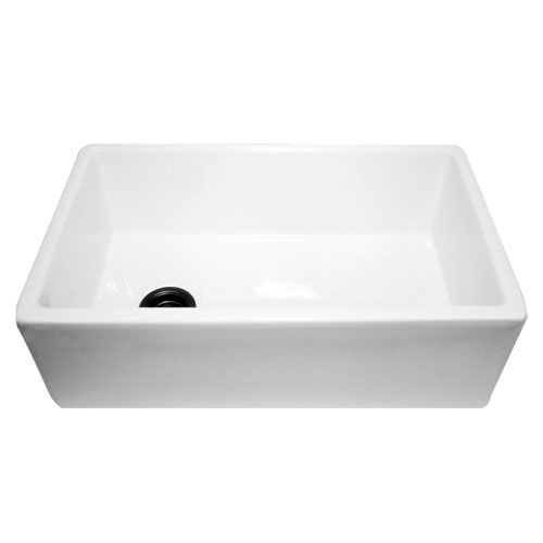 Cape White 30 Inch Fireclay Farmer Sink Nantucket Sinks Single Bowl Kitchen Sinks Kitchen Sink Farmhouse Sink Kitchen Farmers Sink