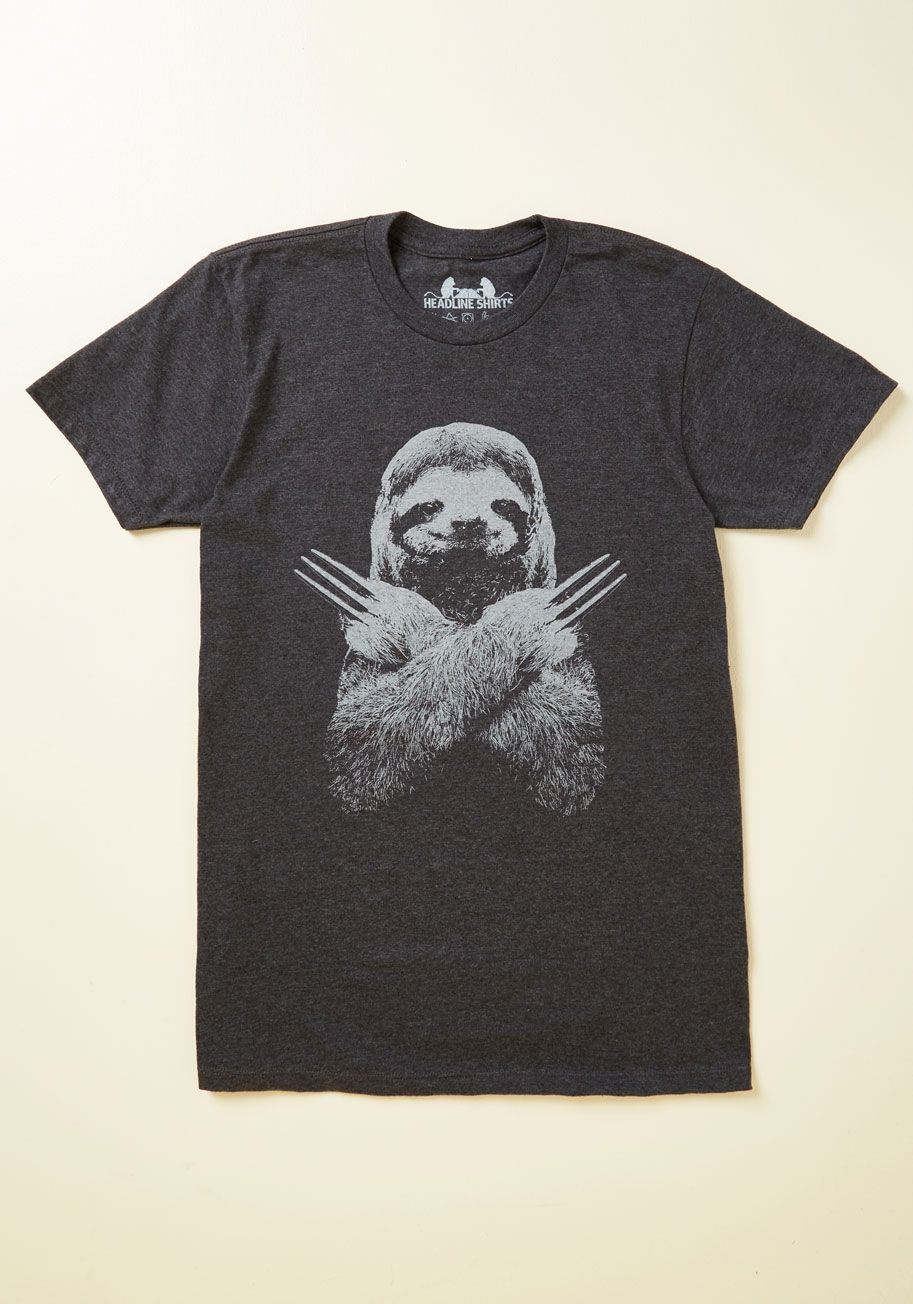 8b580b4cc New Arrivals - Claw-Abiding Citizen Men's T-Shirt | Sloth Life | T ...