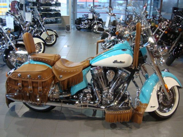 Another Pretty One Indian MotorcyclesTurquoiseSweetPrettyDream