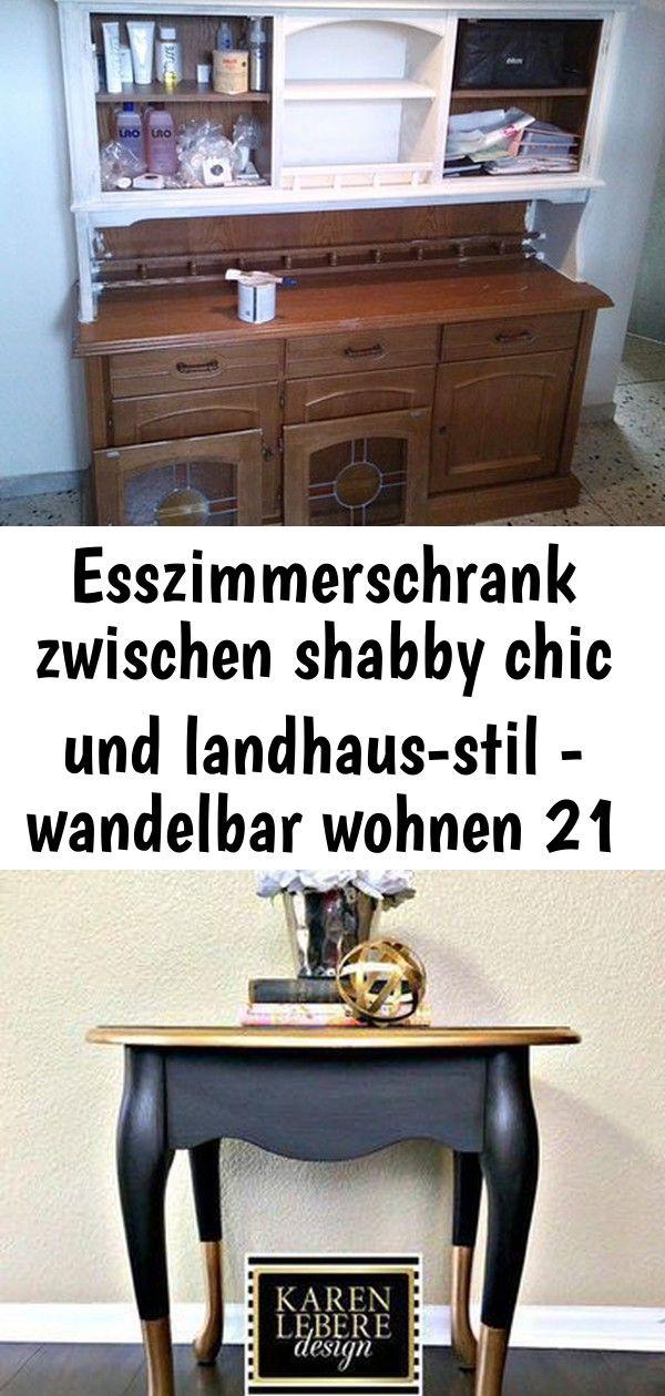 Esszimmerschrank Zwischen Shabby Chic Und Landhaus Stil Wandelbar Wohnen 21 Home Decor Home Entryway Tables